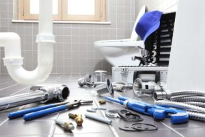 bathroom, toilet & shower plumbing
